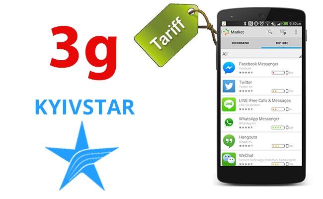 мобильный интернет и 3g тарифы